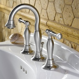 Quentin 2-Handle 8 Inch Widespread High-Arc Bathroom Faucet by American Standard