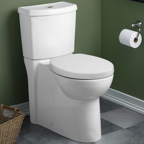 Studio Dual Flush Right Height Elongated 1.1/1.6gpf Toilet by American Standard
