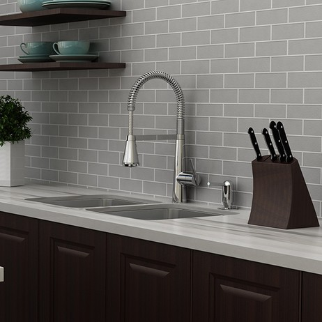 Edgewater Semi-Professional Kitchen Faucet with SelectFlo by American Standard