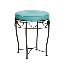 Claire Upholstered Stool  by Bungalow 5