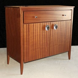 Mid Century Bar Cabinet by 60nobscot Home