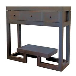 Ebonized console table by 60nobscot Home
