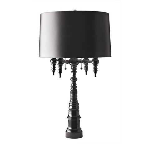 Four-Arm Candelabra Lamp by Dunes and Duchess