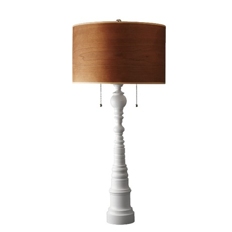 Single Lamp in White by Dunes and Duchess