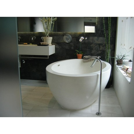 Freestanding Tub by Concreteworks East Studio