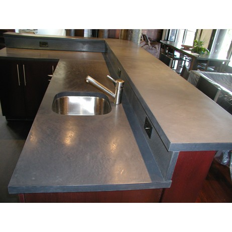 Countertop by Concreteworks East Studio