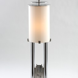 Deco Piston Lamp by Rose Iron Works