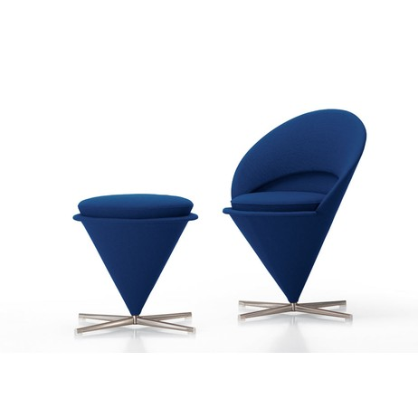 Cone Chair and Stool by Vitra Inc.