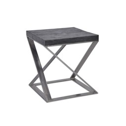 Zeke side table by Tritter Feefer Home Collection