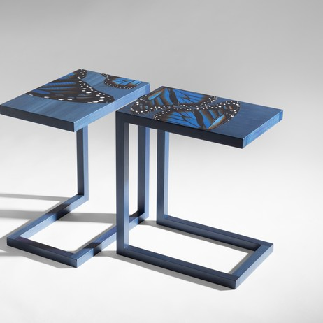 MONARCH END TABLES by zelouf+BELL FURNITURE MAKERS