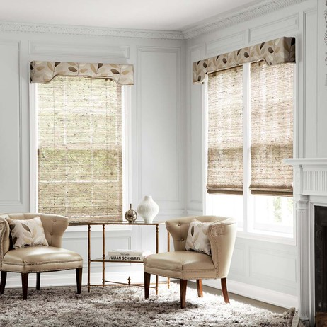 Natural Woven Shades by SMITH+NOBLE