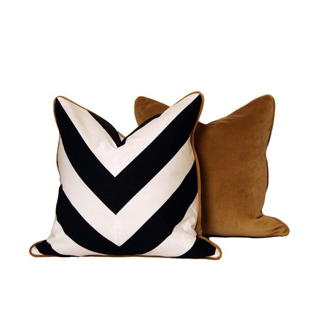 Chevron Pillows by CC DeuxVie