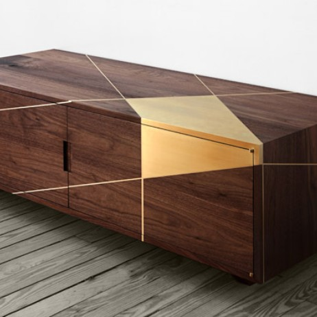 Anamorphic Console by Asher Israelow Studio