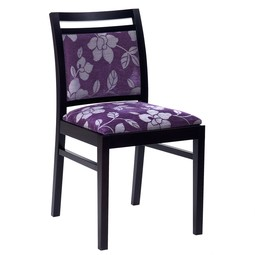 Cristiana Floral side chair by Hill Cross Furniture