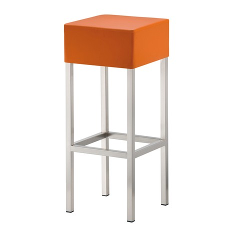 Cube 1 bar stool by Hill Cross Furniture