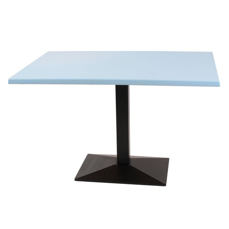 335 Hellblau Werzalit top 1200mm x  by Hill Cross Furniture