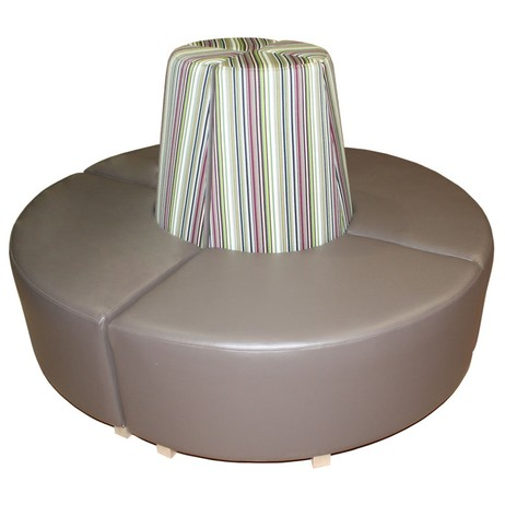 Circular Seating - Complete Set by Hill Cross Furniture