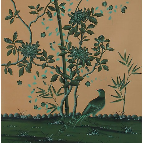 Painted on Silk - Jade by Fromental
