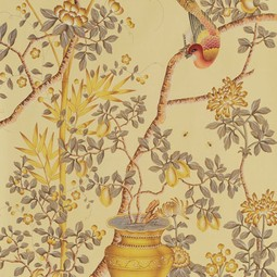 Painted on Silk - Soleil by Fromental