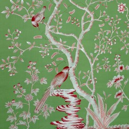 Painted on Silk - Emerald  Tolle by Fromental
