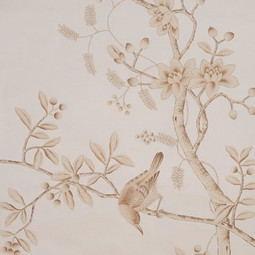 Painted on Silk - Cocoa by Fromental