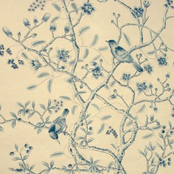 Painted on Silk - Delft by Fromental