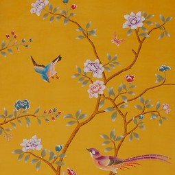 Painted on Silk - Panama by Fromental