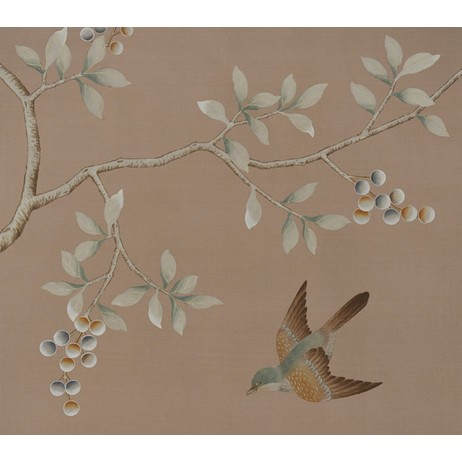 Painted on Silk - Carmen by Fromental