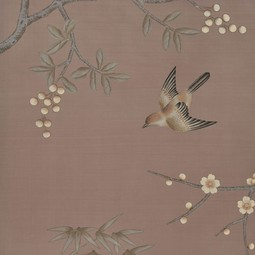 Painted on Silk - Morel by Fromental