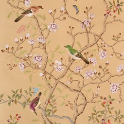 Painted on Silk - Kilburn by Fromental