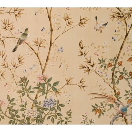 Painted on Silk - Ochre by Fromental