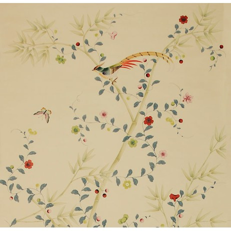 Painted on Silk - Spottswoode by Fromental