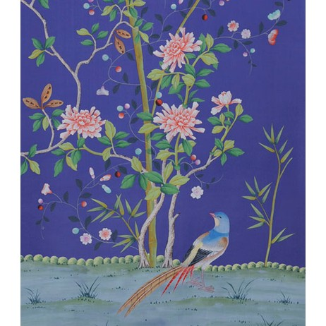 Painted on Silk - Ultramarine by Fromental