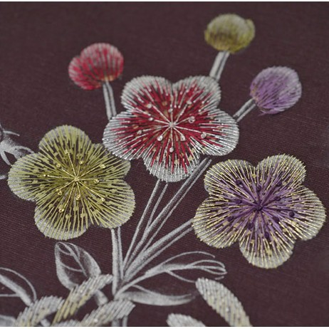 Embroidered - Plumb by Fromental