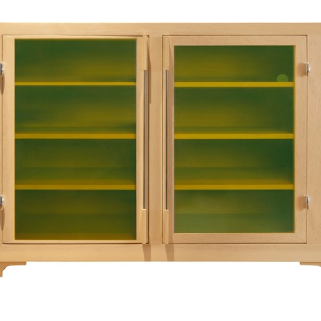Clear Pine Cabinet by JONG