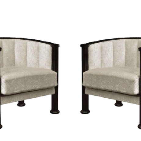 Art Deco Armchairs  by RubyLUX