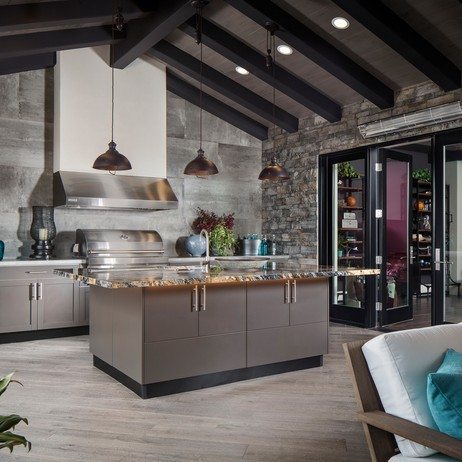 Transitional Room Kitchen by Brown Jordan Outdoor Kitchens