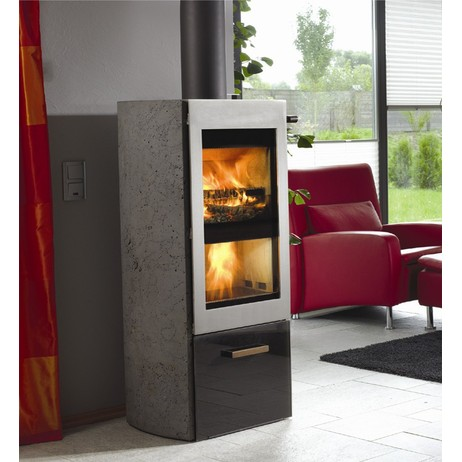 Twinfire Wood Burning Stove by Wittus - Fire by Design