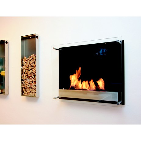 Atlantic Biofire Wall Unit by Wittus - Fire by Design
