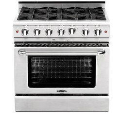"Culinarian 36"" Manual Clean Range by Capital Cooking Equipment Inc."
