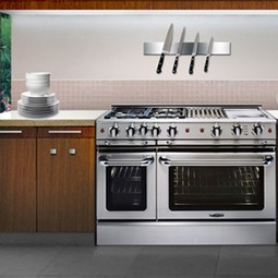 "Precision 48"" Self Clean Gas Range by Capital Cooking Equipment Inc."