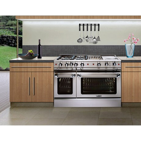 "Precision 48"" Manual Clean Range by Capital Cooking Equipment Inc."
