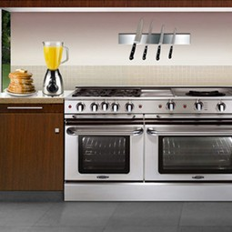 "Precision 60"" Self Clean Gas Range by Capital Cooking Equipment Inc."