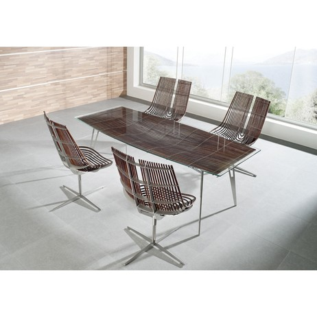 Dinning Table and Chairs by Spline by Schutz