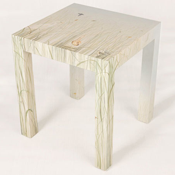 Parson Style End Tables by Audrey Home Collection