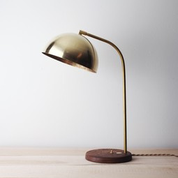 Half Dome Table Lamp by Allied Maker
