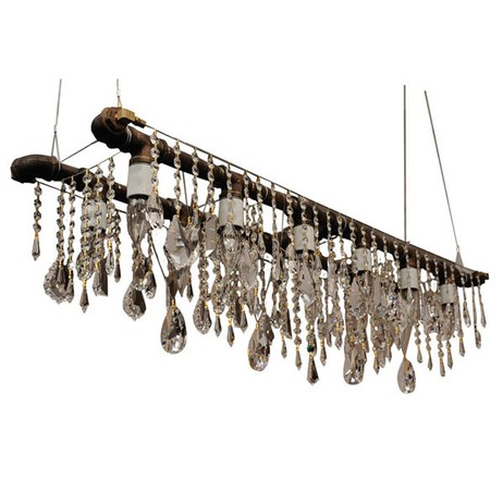 Bryce Banquetting Chandeliers by Interieurs