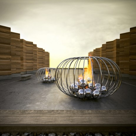 Fire Cage by Colombo Construction Corp