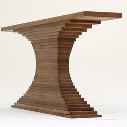 Woodstack Console  by RAMARA Limited