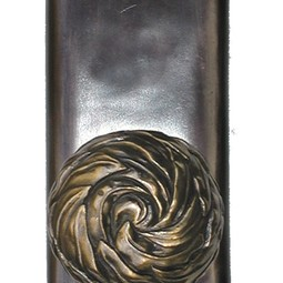 Willow Entry Way Knob by Martin Pierce
